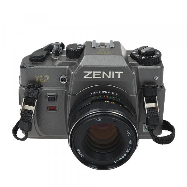 Zenit 122 + obiectiv Helios 44M-4 58mm f/2 (S.H.) 0