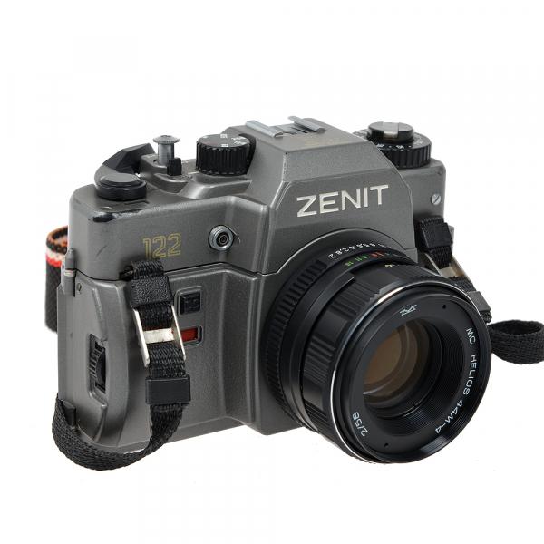 Zenit 122 + obiectiv Helios 44M-4 58mm f/2 (S.H.) 1