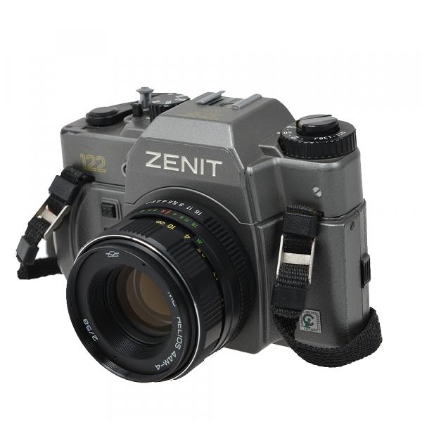 Zenit 122 + obiectiv Helios 44M-4 58mm f/2 (S.H.) 5