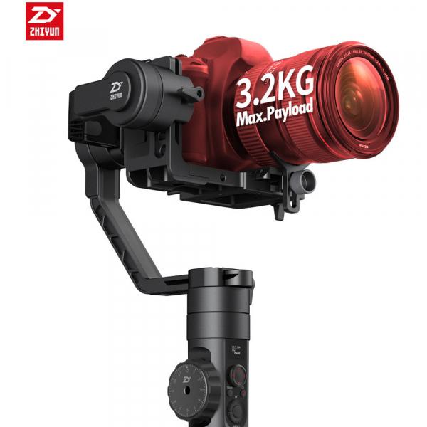 Zhiyun-Tech CRANE 2 Professional stabilizer gimbal -stabilizare pe 3 axe pentru DSLR  + Servo Follow Focus 2