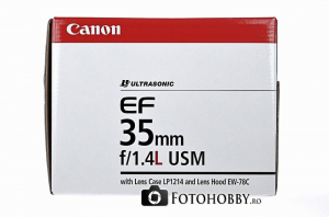 Canon EF 35mm f/1.4 L USM (inchiriere) [6]