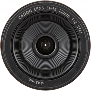 Canon EF-M 22mm f/2 STM , obiectiv Mirrorless0