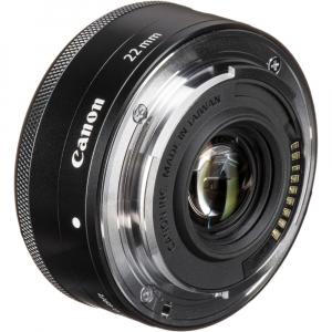 Canon EF-M 22mm f/2 STM , obiectiv Mirrorless3