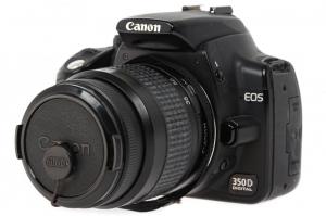 Canon EOS 350D + obiectiv Canon EF 35-80mm f/4-5.6  (S.H.)1