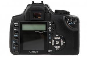 Canon EOS 350D + obiectiv Canon EF 35-80mm f/4-5.6  (S.H.)2