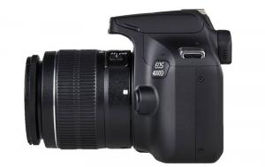 Canon EOS 4000D + EF-S 18-55mm III f/3.5-5.6 + geanta foto Dorr Action 4 [2]