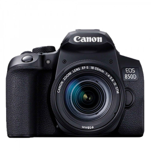 Canon EOS 850D 24Mpx CMOS 4K kit Canon EF-S 18-135mm f/3.5-5.6 IS Nano USM1