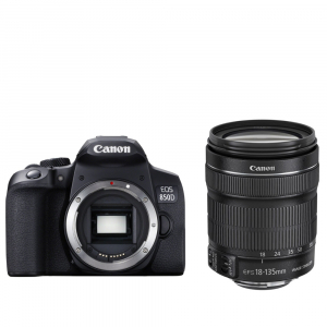 Canon EOS 850D 24Mpx CMOS 4K kit Canon EF-S 18-135mm f/3.5-5.6 IS Nano USM8