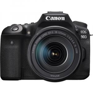 Canon EOS 90D kit + 18-135mm IS NANO USM0