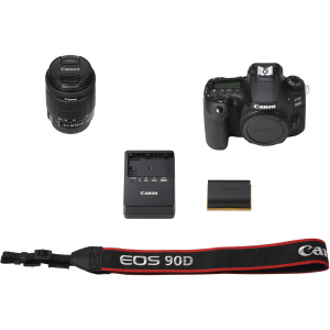 Canon EOS 90D kit + 18-55mm IS STM6