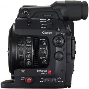 Canon EOS C300 Mark II - camera cinema 4K - montura Canon EF2