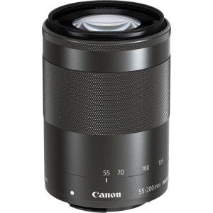 Canon EOS M200 Kit EF-M 15-45mm IS STM - Canon EF-M 55-200mm f4.5-6.38