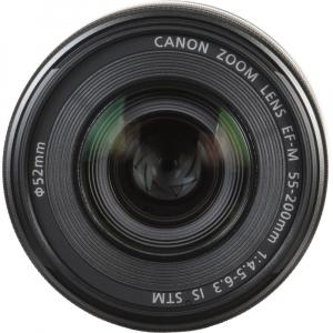 Canon EOS M200 Kit EF-M 15-45mm IS STM - Canon EF-M 55-200mm f4.5-6.39