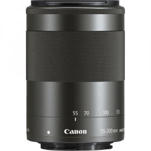 Canon EOS M200 Kit EF-M 15-45mm IS STM - Canon EF-M 55-200mm f4.5-6.37
