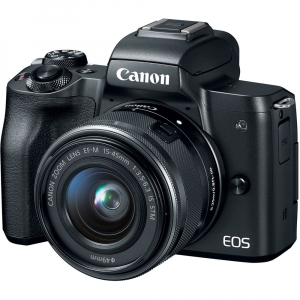Canon EOS M50 + Canon 15-45mm IS negru2
