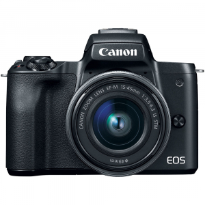 Canon EOS M50 + Canon 15-45mm IS negru Canon EF-M 22mm f2 STM1
