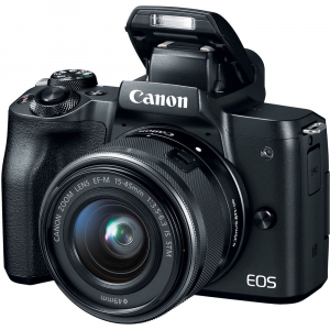 Canon EOS M50 + Canon 15-45mm IS negru Canon EF-M 22mm f2 STM3