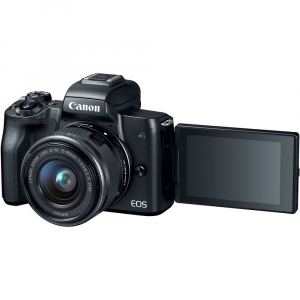 Canon EOS M50 + Canon 15-45mm IS negru Canon EF-M 22mm f2 STM4