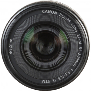 Canon EOS M50 + Canon 15-45mm IS negru EF-M 55-200mm f4.5-6.3 IS STM8