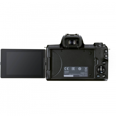 CANON EOS M50 MARK II Aparat foto Mirrorless Kit cu Canon EF-M 18-150mm F3.5-6.3 IS STM, Negru [7]