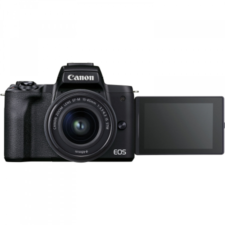 CANON EOS M50 MARK II Aparat foto Mirrorless Kit cu Canon EF-M 18-150mm F3.5-6.3 IS STM, Negru [8]