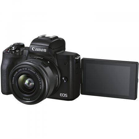 CANON EOS M50 MARK II Aparat foto Mirrorless Kit cu Canon EF-M 18-150mm F3.5-6.3 IS STM, Negru [6]