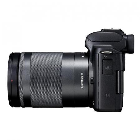 CANON EOS M50 MARK II Aparat foto Mirrorless Kit cu Canon EF-M 18-150mm F3.5-6.3 IS STM, Negru [3]