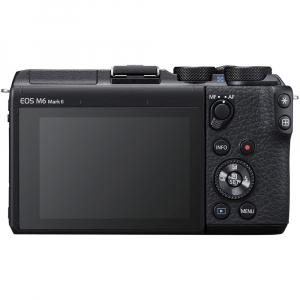 Canon EOS M6 Mark II body, 32.5MP, 4K - negru2