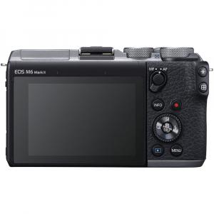 Canon EOS M6 Mark II Kit EF-M 15-45mm IS STM + vizor EVF-DC2- argintiu3