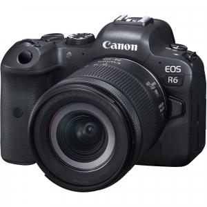 Canon EOS R6 Aparat Foto Mirrorless 20.1 MP Full-Frame 4K Kit cu Obiectiv RF 24-105mm F/4-7.1 IS STM0
