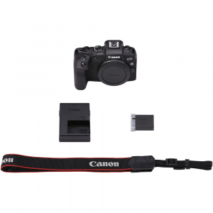 Canon EOS RP, Mirrorless 26MP, 4K - body + Adaptor Standard Canon EF-EOS R6