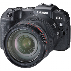 Canon EOS RP Mirrorless Kit cu Canon RF 24-105mm f4 L IS USM + Adaptor Standard Canon EF-EOS R1