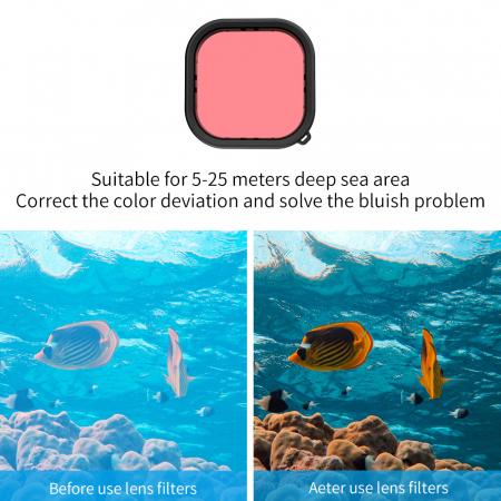 Carcasă subacvatica impermeabilă pentru Gopro Hero 9 - GP-WTP-901 [7]