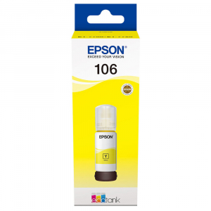 Cartuş Cerneala Yellow tip Photo Epson 106 EcoTank  - 106 ECOTANK PHOTO YELLOW INK BOTTLE0