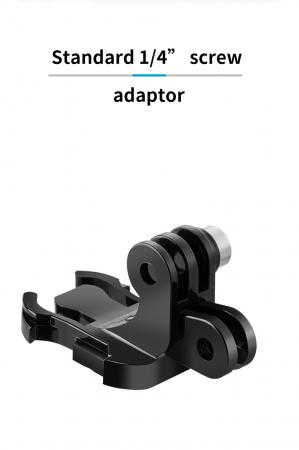 Suport cu cârlig dublu J pentru camere sport GP-MTB-T02-BK [1]