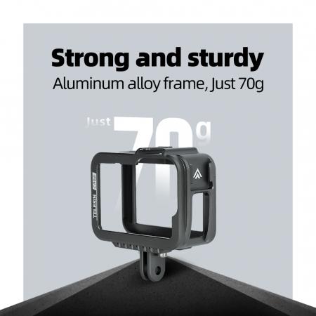 Carcasa/Cage din aluminiu pentru GoPro 9 - GP-FMS-901 [1]