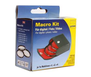 Dorr 62mm Set 3 filtre Macro Close-up: +1, +2, +4 [1]