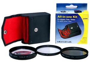 Dorr 72mm Set 3 filtre Macro Close-up: +1, +2, +4 [1]