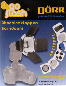 Dorr GoFlash Barndoors - Voleti [4]
