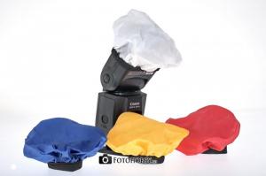 Dorr set de bounce diffusere colorate pentru blitz0
