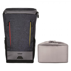 Dorr Stockholm Backpack grey-blue - rucsac foto2