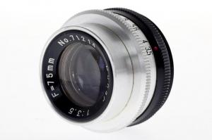 Dunar 75mm f/3.5 obiectiv pentru aparat de marit (S.H)2