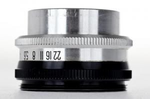 Dunar 75mm f/3.5 obiectiv pentru aparat de marit (S.H)0