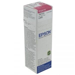 Epson T6733 - cerneala magenta pentru imprimanta Epson L8001