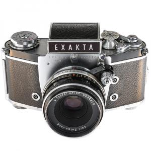 Exakta Varex IIa Model 1961+ Carl Zeiss Tessar 50mm f/2.84