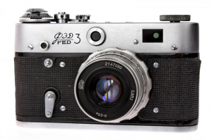 Fed 3 + Industar-26 52mm f/2.8 , aparat de colectie0