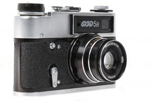 FED 5B body cu obiectiv  Industar-61 L / D 55mm f / 2.8 6