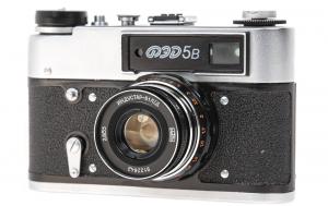 FED 5B body cu obiectiv  Industar-61 L / D 55mm f / 2.8 1