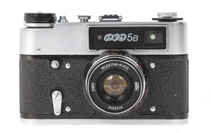 FED 5B body cu obiectiv  Industar-61 L / D 55mm f / 2.8 0