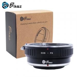 FIKAZ , adaptor de la Obiectiv montura Canon EF la body montura Fujifilm X0